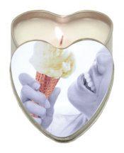 Edible Heart Candle – Vanilla – TCN-8281-56