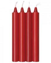 Make Me Melt Sensual Warm Drip Candles 4 Pack Red – IB23242