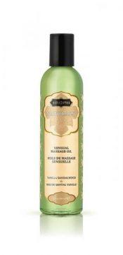 Kama Sutra Naturals Massage Oil Vanilla Sandalwood – KS10244