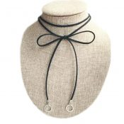 New Style Neck Ropes Fashion Black Velvet Cord Necklace – GJ-BEA11058091-HEIDI00084
