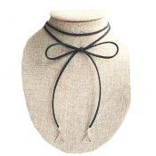Beautiful Special Cord Necklace New Fashion Black Neck Jewelry – GJ-BEA11058091-HEIDI00100