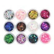 12 Colors Charming Nails Art Design Decorations – A16 – GJ-BEA13106071-JEN00273
