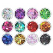 12 Colors Charming Nails Art Design Decorations – A24 – GJ-BEA13106071-JEN00281