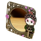 Chinese Style Beijing Opera Make Up Cosmetic Mirror Creative Ornament Mirror-A02 – GJ-BEA7792504011-ALICE04350