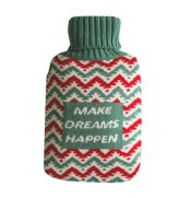 1800ML Creative Chocolate Flavor RubberRandom Color+ Knit Cover,RED&GREEN – DS-HEA3763901-MINT01127