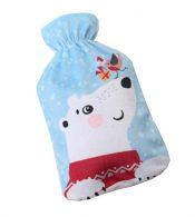 2L Lovely Bear Style Soft Fleece Cover+Hot Water Bottle (Random Color) – DS-HEA3763901-MINT01167