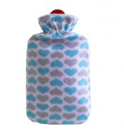 Classic Rubber Hot Water Bottle Hot Water Bag Keep Warm (Cover May Random), 1.8L – DS-HEA3763901-MINT02937