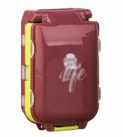 Creative Three Sections 8 Grids Large Luggage Pill Case-Coffee – GJ-HEA3764251-ALICE00568