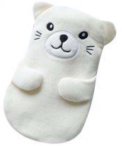 [White Bear]Hot Water Bottle with Cover Winter Hand Warmer, 350ML – GY-HEA3763901-MIYA01461
