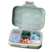Pill Case/Box Portable Travel Medicine Organizer for Medication and Vitamin, Large compartment #42 – WK-HEA3764251-KRIS00895