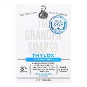 Grandpa's Thylox Acne Treatment Bar Soap with Sulfur – 3.25 oz – 0482091