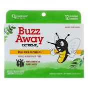 Quantum Research Buzz Away Towelettes – 12 pack – 0318543