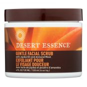 Desert Essence – Facial Scrub Gentle Stimulating – 4 fl oz – 0621284