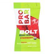 Probar Bolt Energy Chews – Organic Strawberry – 2.1 oz – Case of 12 – 1232164