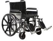Wheelchair Bariatric 20  Wide w/Rem Desk Arms  Elev Legrests – 10959A-ELR
