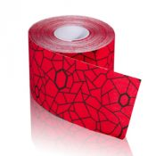 TheraBand Kinesiology Tape STD Roll 2 x16.4′ Hot Red/Black – 12748