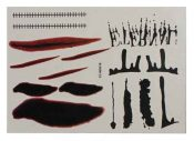 Set of 8 Halloween Scared Tattoo Stickers, Disposable and Waterproof [T] – BC-BEA11058291-IRENE02682