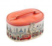 Household Essentials Grooming Travel Cosmetic Bag PU Makeup Organizer London – BC-BEA11062771-NIKI00499