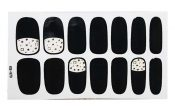 [A] Set of 5 Stylish Nail Stickers Nail Decals Manicure Tips – BC-BEA13106071-EMMA01648