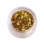 5 Boxes Makeup Glitter Sequins Shining Nail Art Sequins Face Glitter, Yellow – BC-BEA3006286011-EMMA03106