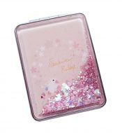 Set of 2 Quicksand Compact Mirrors Portable Double-sided Makeup Mirrors #21 – BC-BEA3785121-EMMA06814