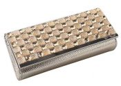 One Side Rhinestones Clutch Bag, with The Detachable Chain [Gold] – BC-BEA387321011-IRENE02572