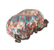 Lady Waterproof Elastic Shower Bathing Salon Hair CapFlower – DS-BEA11056571-MINT00426