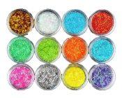 Nail Art Glitter Shimmer Nail Decorations 12 Color – EM-BEA13106071-ARIEL01830