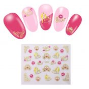 5 Sheets Nail Art Stickers Decals For Nail Tips Decorations – EM-BEA13106071-ARIEL03162