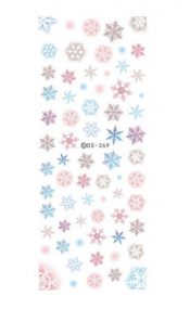 Nail Tips Decorations Water Transfer Nail Art Stickers, 5 Sheets – EM-BEA13106071-ARIEL03173