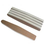 10 Pieces Double Sided Sponge Nail Files Home or Professional Manicure – EM-BEA3784911-DAISY00468