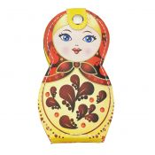 6 Pieces Stainless Steel Manicure Pedicure Beauty Tools with Russian Doll Case, B – GJ-BEA11063481-HERMINE03222