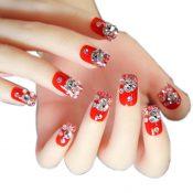 Elegant Bridal Nails Decoration Art Beauty Nails False Nails for Wedding/Party/Prom, B – GJ-BEA13106071-HERMINE01690