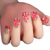 Elegant Bridal Nails Decoration Art Beauty Nails False Nails for Wedding/Party/Prom, R – GJ-BEA13106071-HERMINE01706
