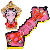 Set Of 5 Colored Nail Clippers Cute Chinese Emperor Pattern Manicure Set, Yellow – GM-BEA11063461-ZARA03341