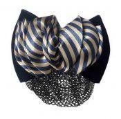 Pack Of 2 Hairnet Clips For Nurse Bank Hotel Bowknot Headdress D041 Blue Stripes – GM-BEA7706134011-ZARA01748