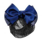 Pack Of 4 Hair Net Clips For Nurse Bank Hotel Bowknots Headdress, D049 Dark Blue – GM-BEA7706134011-ZARA01751