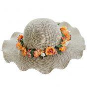 Sunscreen Sun Hat Beach Hat Weave Fashionable Sunscreen – GY-BEA10865955011-ANNE00013