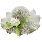 Weave Fashionable Sunscreen Sun Hat Beach Hat  Girls Straw Hat – GY-BEA10865955011-ANNE00015