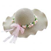 Weave Fashionable Sunscreen Beach Hat Sunscreen Summer Hat – GY-BEA10865955011-ANNE00022
