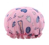 2 Pcs Cute Bathing Cap Large Shower Cap Shower Cap For Women [Ocean] – GY-BEA11056571-ERIC03505