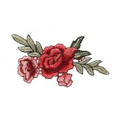 2PCS Fashion Embroidery Clothes Patch Decorations#U – KE-BEA11056511-JOJO00373