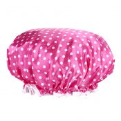 2PCS Shower Cap,Bath Cap-Elastic Band,Extra Large,Wont Fall Off Your Head Designed for Women#T – KE-BEA11056571-JOJO00596