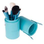 Portable 7-Pcs Barrelled Cosmetic Brush Kit Makeup Brushes Set-Blue – KE-BEA11059451-YUKI00944