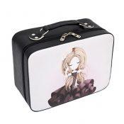 PU Cartoon Waterproof Cosmetic Box Makeup Box Makeup Bags Handbag, A – KE-BEA11062771-JELLY00208