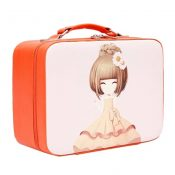 PU Cartoon Waterproof Makeup Box Handbag Cosmetic Box Makeup Bags, F – KE-BEA11062771-JELLY00213