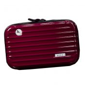 Waterproof Makeup Bags Makeup Pouches Travel Cosmetic Bag, Red – KE-BEA11062771-JELLY03259