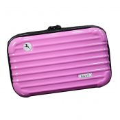Personalized Makeup Bags Travel Cosmetic Bag Cosmetic Pouches, Light Pink – KE-BEA11062771-JELLY03267