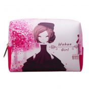 Lovely Girl Cosmetic Bag Makeup Pouches Travel Wash Bag Makeup Bags, A – KE-BEA11062771-JELLY03283