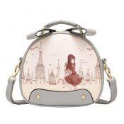Leisure Elegant Single Shoulder Strap Bag Fashion Purse Cute Ladies Lovely Round Prints Shoulder Bag – KE-BEA11062791-GLORIA01134